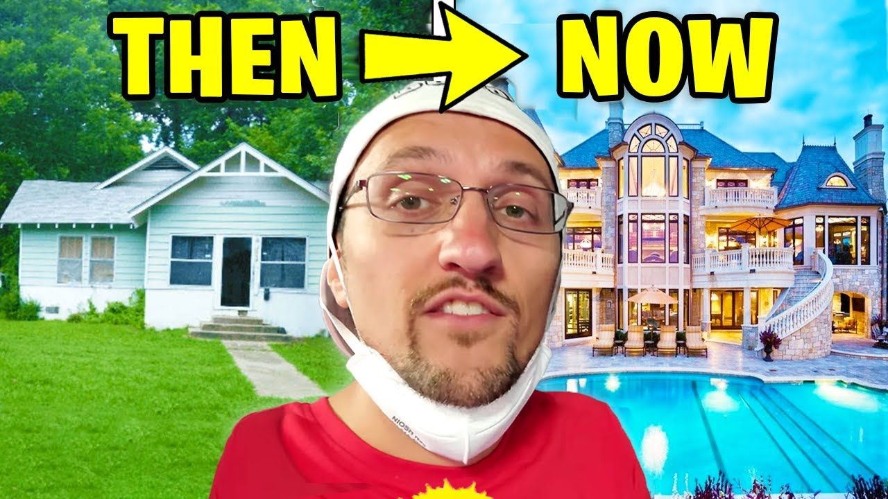 Download 6 YouTubers Houses THEN And NOW! (FGTeeV, MrBeast, Jelly, Unspeakable, DanTDM)