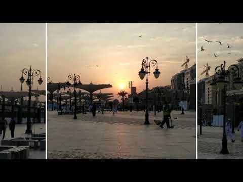Sunset Di Depan Mimbar
