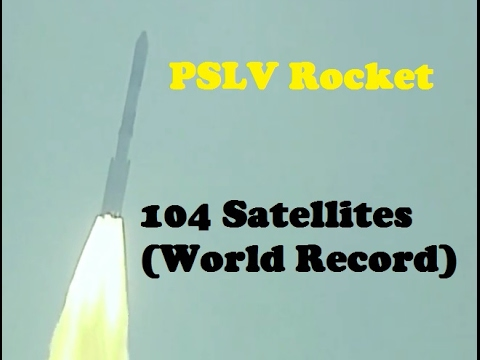 India Launches and Deploys Record 104 Satellites in Single Mission (PSLV  Rocket)