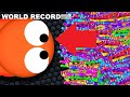 WORMATE.IO WITH DEVINPERKSGAMING 231 MILLION WORLD RECORD