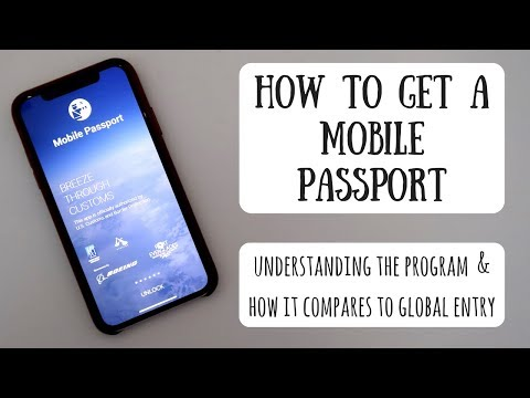 How To Get A Mobile Passport | Is It Better Than Global Entry?