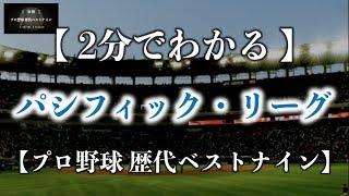 【野球×統計】§1「分析・プロ野球歴代ベストナイン」 日本プロ野球ファ...