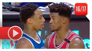 Jimmy Butler vs DeMar DeRozan UNREAL Duel Highlights (2017.03.21) Bulls vs Raptors - MUST SEE!