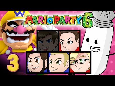 "Mario Party 6: ""Salty Teams"" - EPISODE 3 - Friends Without Benefits"