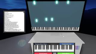 Overwatch theme on virtual piano (roblox)