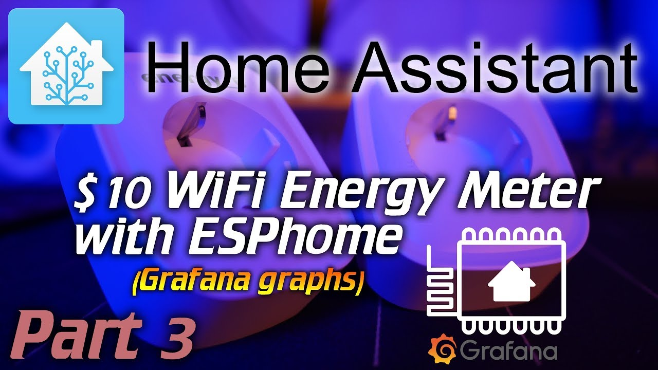 Home Assistant: 10$ WiFi energy meter with ESPhome