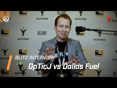 """OpTicJ vs Fuel: """"I can't wait for that sweet [victory] moment. I'm gonna selfie w/ the final score"""""""