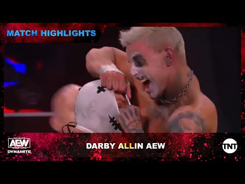 Darby Allin Defends the TNT Champions on AEW Dynamite