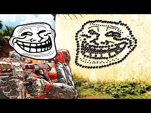 Black Ops 3 Funny Moments - (Drawing on Walls, Ninja Montage, Trolling!)