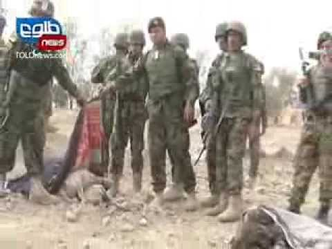 TOLOnews 20 January 2014 Taliban Attack on Afghan US Base in Kandahar