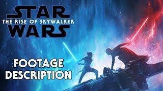 D23 The Rise of Skywalker Footage Description and Reaction