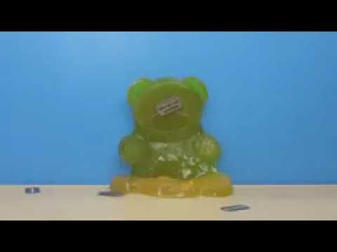 Желейный Медведь Валера против желейного обжоры
