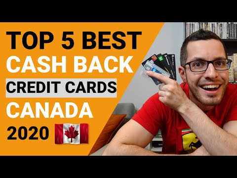 TOP 5 BEST CASH BACK CREDIT CARDS IN CANADA 2020 | Credit Card Guide Chapter 1