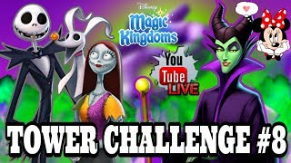 Disney Girl LIVESTREAM! THE NIGHTMARE BEFORE CHRISTMAS STARTS OFF TOWER CHALLENGE 8! Magic Kingdoms
