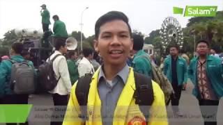 salam news aksi damai mahasiswa fsldk jadebek