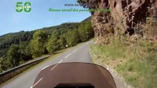 Tarn et Hérault à moto - Les Monts de Lacaune. Street58
