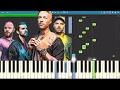 Coldplay - Hypnotised - Piano Tutorial - Instrumental