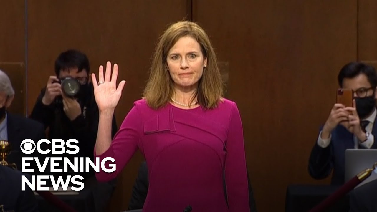 Senate Confirms Amy Coney Barrett To The Supreme Court
