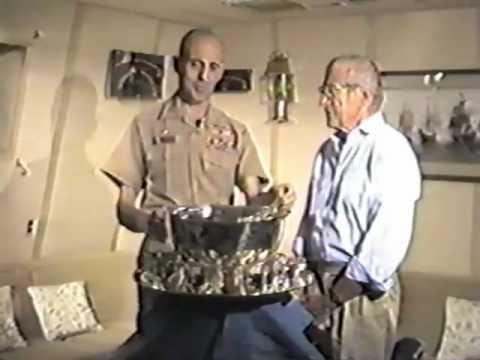 USS Lake Champlain CG-57 1988 Commissioning Ceremo