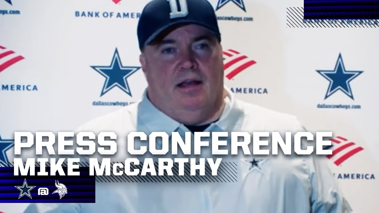 Mike McCarthy: Love The Fight Of The Defense | Dallas Cowboys 2020