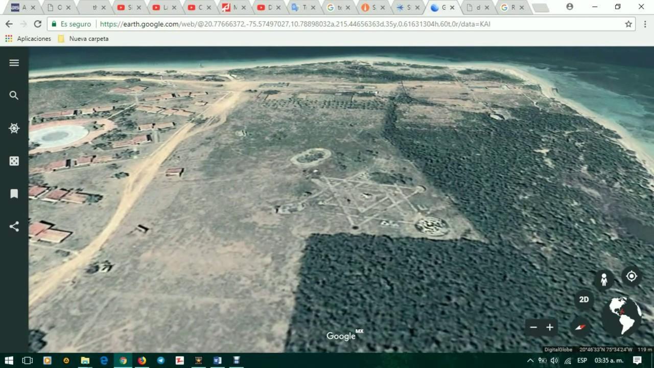 Hexágono o Hexagrama aparece en superficie terrestre de Cuba [2018]