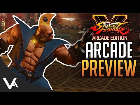 SFV - Arcade Mode Preview! New V-Trigger Gameplay & Details For Street Fighter 5 Arcade Edition