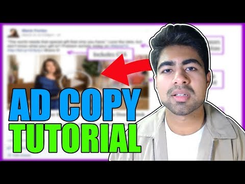 How To Write POWERFUL Ad Copy That Converts For Facebook Ads (Shopify Dropshipping) thumbnail
