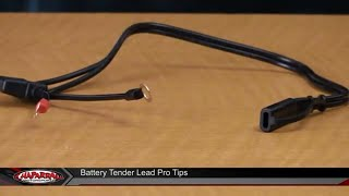 1 Accessory : Battery Tender Ring Terminal Lead or Two Prong SAE 2-Pin  Harness - YouTube | Battery Tender Wiring Harness |  | YouTube