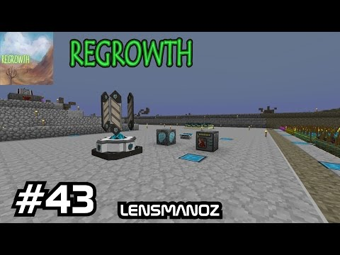 Minecraft - Regrowth - Ep 43 - Academy Craft Start