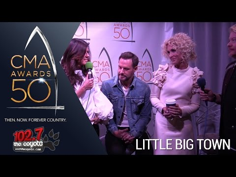 "CMA Awards 50: Little Big Town Talks Headining Ryman Residency & Taylor Swift Writing ""Better Man"""