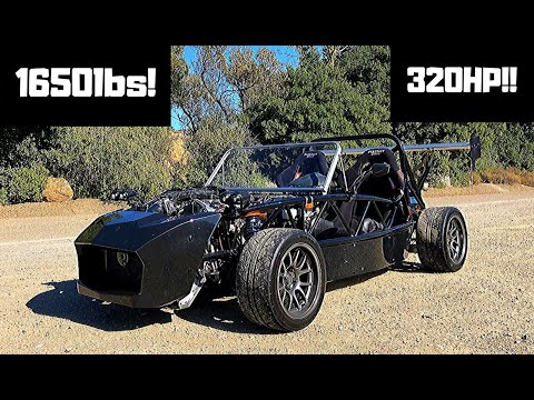 This 320-HP Exomotive Exocet Makes a Lovely V-6 Sound