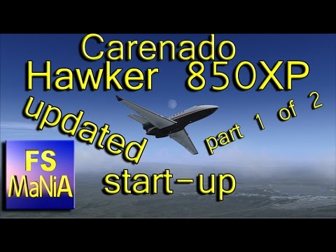 Carenado HAWKER 850XP UPDATED part 1 of 2