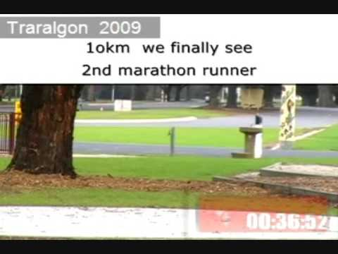 Traralgon marathon 2009