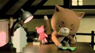 2003年に制作された 記念すべき「こまねこ」の第一作、 五話完結の「こまねこ はじめのいっぽ」です。