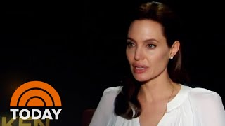 Jolie On 'Unbroken' Inspiration: 'I Can't Talk About It Without Crying' | TODAY