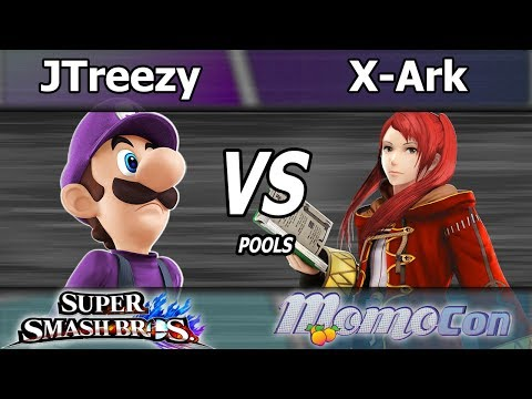 JTreezy (Luigi) vs. X-Ark (Robin) - Wii U Pools - Momocon 2017