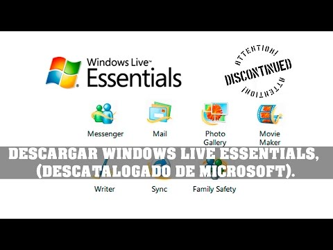 HOW TO DOWNLOAD, WINDOWS LIVE ESSENTIALS, DISCONTINUED OF MICROSOFT