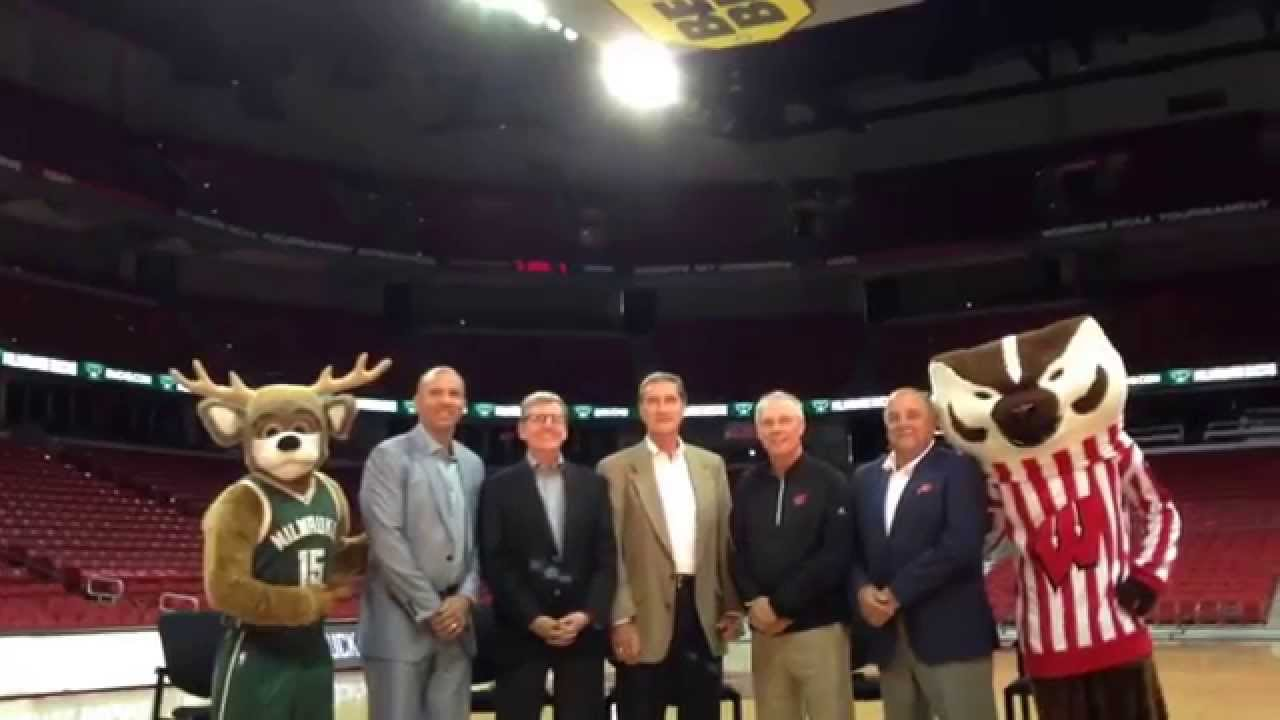 Group shot of Jason Kidd John Hammond Jon McGlocklin Bo Ryan Barry