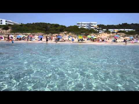 Playa de Santo Tomás. Menorca 2014.