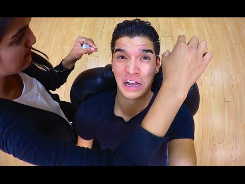 SHE TOOK MY EYEBROWS!!