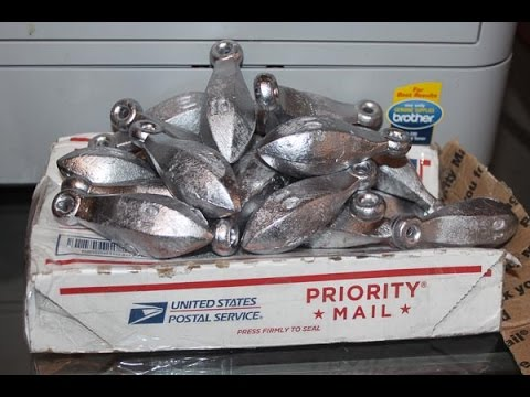 Buy Your Fishing Sinkers And Weights In Bulk And Save Big