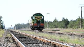 Тепловоз ЧМЭ3-3807, станция Цюрупинск Одесской ЖД(, 2015-11-02T19:24:12.000Z)