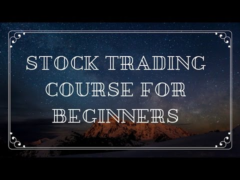 Stock Trading Course for Beginners – How to Trade Penny Stocks In The Stock Market