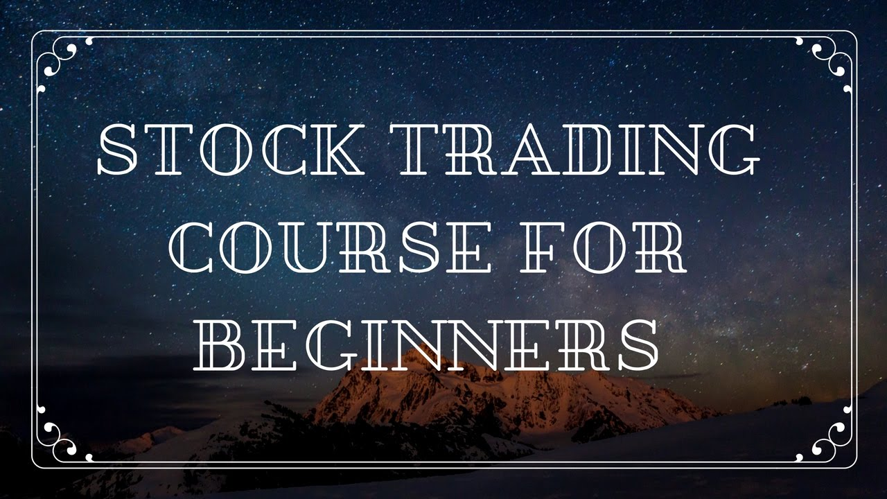 How to trade stock options for beginners stock trading courses