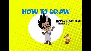 How to draw Romeo from PJ Mask - Learn to Draw - ART LESSON  full episode