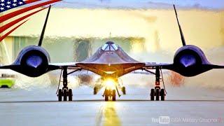 【世界最速のスパイ機】SR-71ブラックバード・マッハ3.3で飛ぶステルス偵察機
