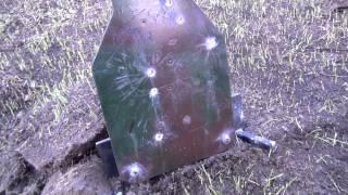 Стрельба из украинской AR-10 750 метров в гонг