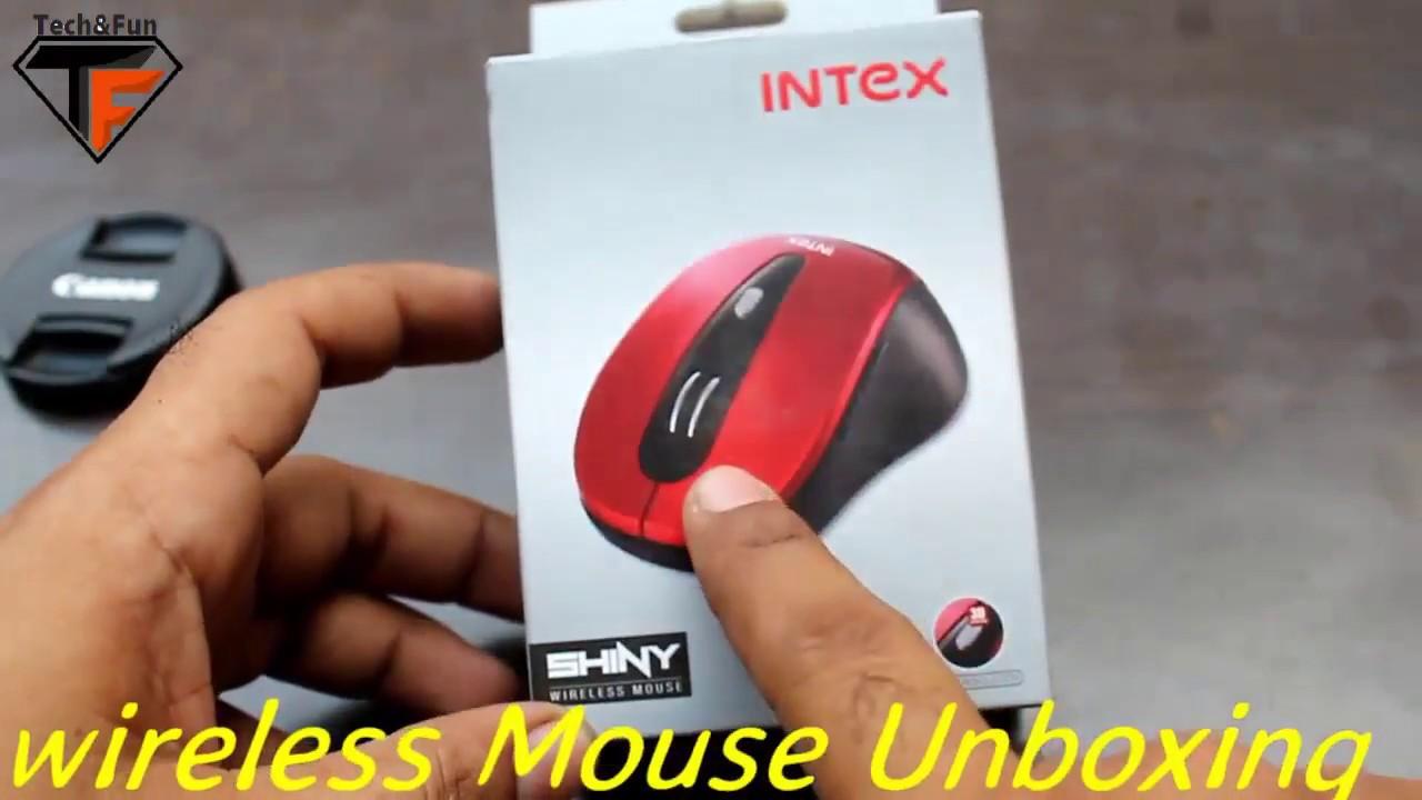 37cbbe12612 Intex Shiny Wireless Mouse Unboxing | Tech&Fun | Hindi/Urdu - YouTube