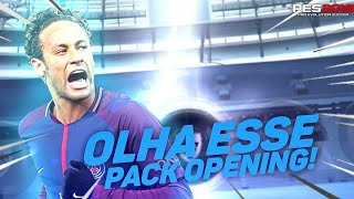 OLHA ESSE PACK OPENING NO PES 2019 MOBILE! CONFIRA!