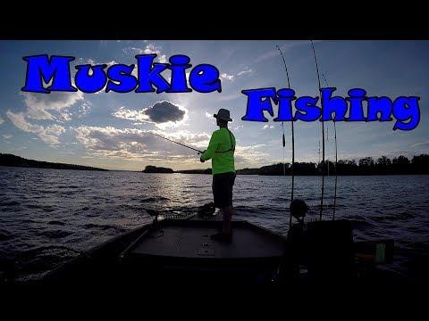 Muskie Fishing New Brunswick June 2018-Underwater Views!